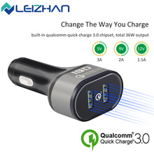 Buy IBD Qualcomm 3.0 USB Car Charger 5V 2.4A Dual Ports Cell Phone Quick Charger Samsung Huawei LG QC3.0 USB Charger High Speed for $7.99 in AliExpress store