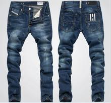Classic Men's Designed Straight Fit men jeans Casual Jeans Slim men's jeans free shipping