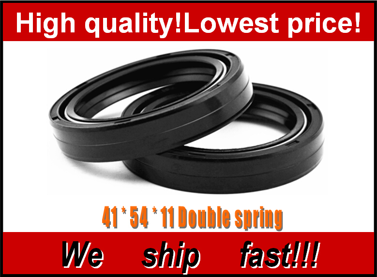 Motorcycle Front Fork Damper oil seal for KAWASAKI ZRX400 ZZR400 2000 Z1000 2008 Shock absorber oil seal(China (Mainland))