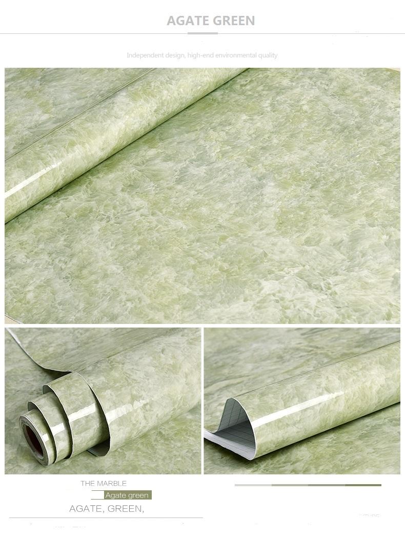 Promoci n de mesa de m rmol verde compra mesa de m rmol - Papel pintado autoadhesivo para muebles ...
