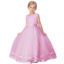 Buy Summer Girl Children Wedding Events Formal Dress Flower Girls Dress For Kids Prom Party Wear Clothes Birthday Dresses For Girl for $15.15 in AliExpress store