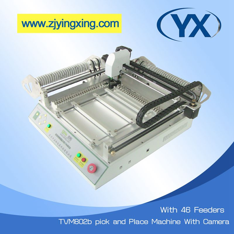 TVM802B Placement Equipment Surface Mount Machine Pick and Place Robot Machine(China (Mainland))