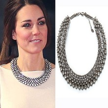 Buy 2017 New Kate Middleton necklace necklaces & pendants fashion luxury choker design crystal pendant necklace statement jewelry for $6.98 in AliExpress store