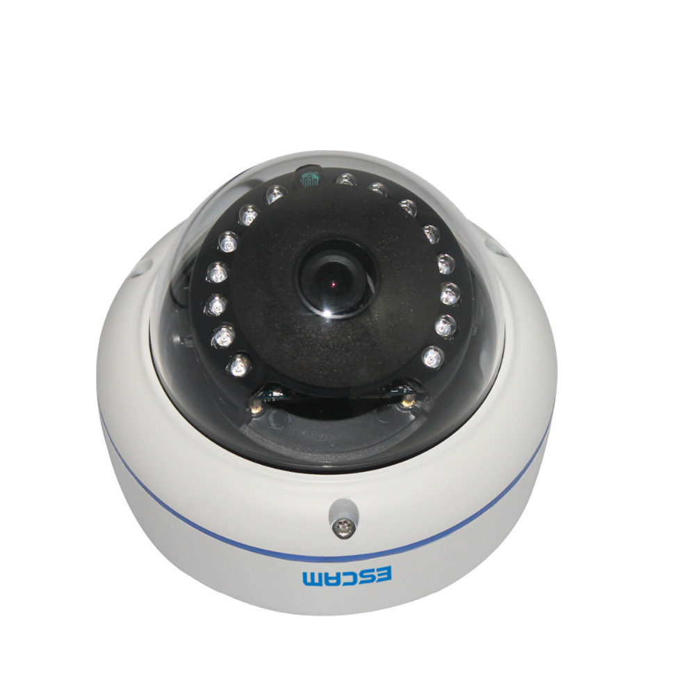 ESCAM mini P2P hemisphere Night Vision CCTV cameras Millions HD IP Network remote 720P IP66 waterproof surveillance cameras(China (Mainland))