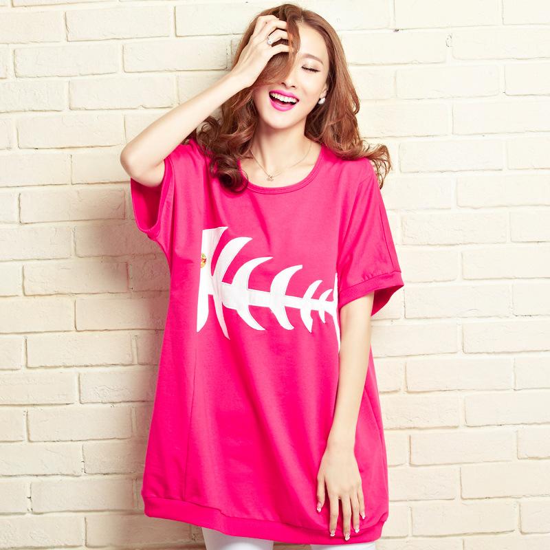 100% cotton Pregnant Women T shirt summer loose Maternity T Shirt for pregnancy woman Plus Size camisetas de maternidad pregnant(China (Mainland))