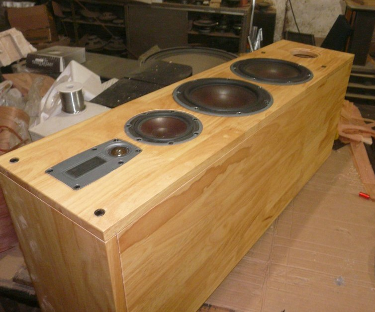 Dani buyers custom 8-inch oak wood <font><b>floor</b></font> <font><b>speakers</b></font> + Divide HIFI