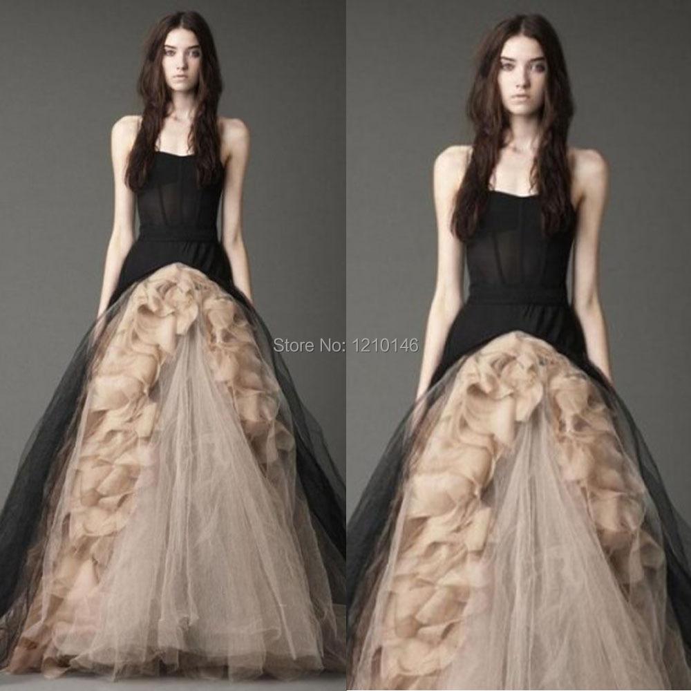 Black halloween wedding gowns 2015 in wedding dresses from weddings
