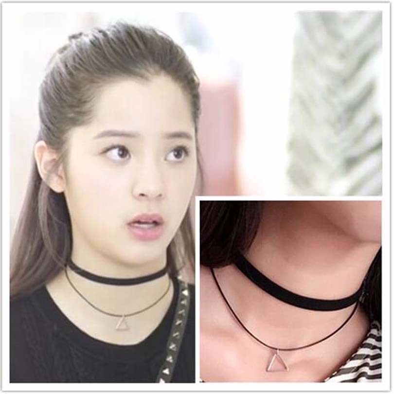 Lace choker necklaces Chains Women jewelry Hand-knit necklaces Short clothing accessories new year gifts necklaces for woman