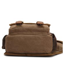 2015 Fashion Retro Vintage Canvas Bag Men Messenger Adjustable Shoulder Oblique Cross Body Package bags Travel