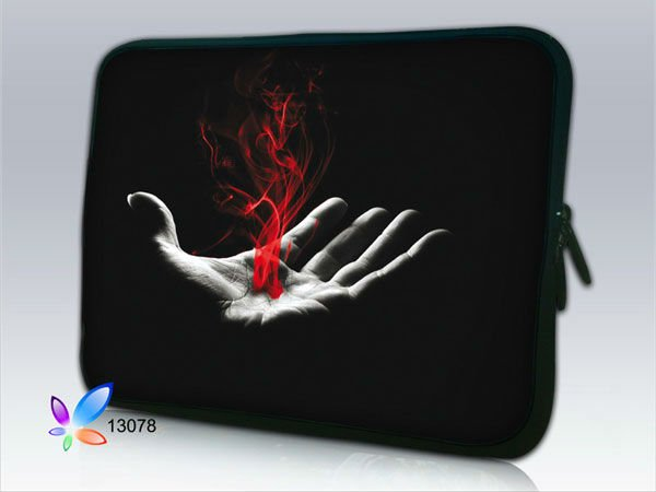 "Free Shipping,Cool Hand Shape 15""15.4""15.6"" Laptop Cover Case Bag Pouch Neoprene Sleeve For HP(China (Mainland))"