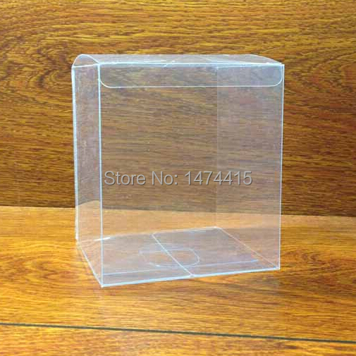 9*9*4 cm pvc perfume box,Transparent plastic Cosmetic Packaging Box Free shipping(China (Mainland))