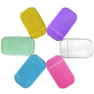 500pcs/lot Wholesale Magic Non Slip Sticky Pad Anti Slip Mat Car Anti Slip Pad Washable Phone Shelf Antislip Mat(China (Mainland))