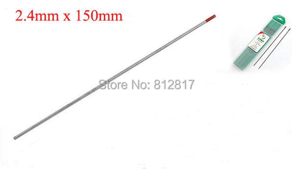 2.4 mm x 150 mm thorium tungstène électrodes WT20 pour le soudage TIG(China (Mainland))