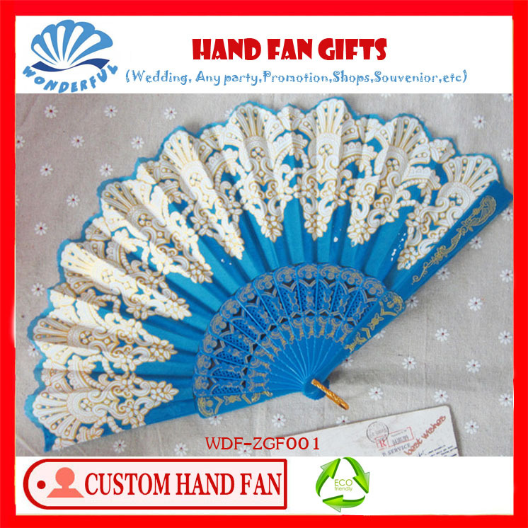 Free shipping hand fan /abanico embroidery design for gifts many colors for choice(China (Mainland))