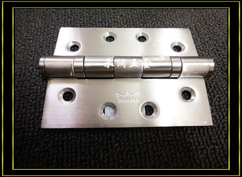 Dorma DORMA door hinge bearing mute imported stainless steel door hinges never rust / piece(China (Mainland))