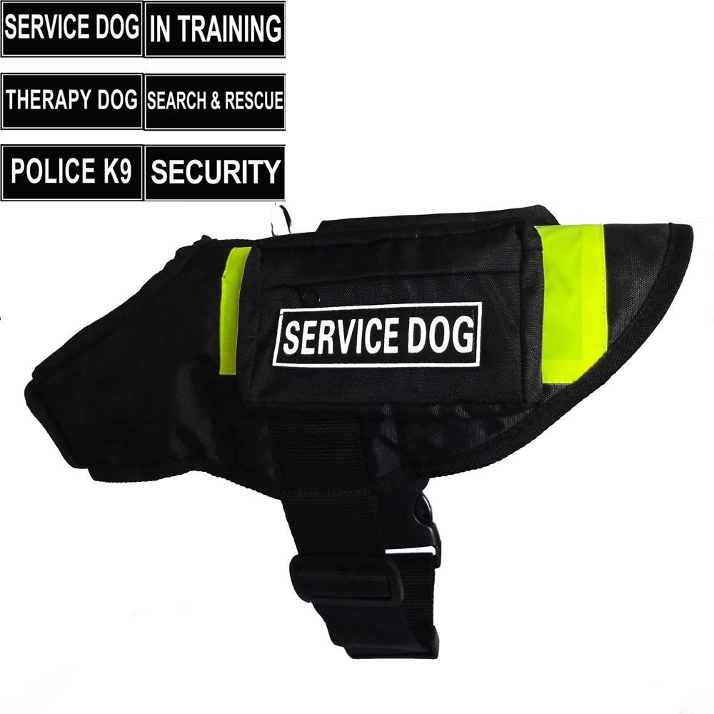 Dog Vest With Pockets New Unisex Service Dog Vest