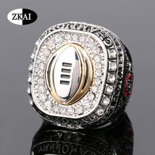 High quality 2015 Sales Promotion for Replica Newest Design Arrival 2015 Buckeyes Ohio State National Championship Ring for Fans(China (Mainland))