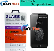 100% Original Aierwill Tempered Glass For Umi Touch Screen Protector for UMI TOUCH X Smartphone + in stock +Free shipping