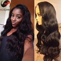 Hotsale Unprocessed Virgin Brazilian Lace Front Wig Glueless Body Wave Lace Front Human Hair Wigs With