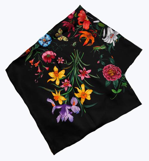 Elegant Square 14MM 100% Twill Silk Scarf  TWIC-89092AОдежда и ак�е��уары<br><br><br>Aliexpress