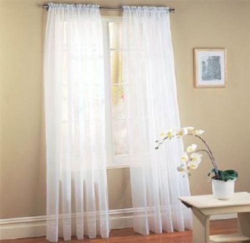 Cheap Window Curtains Modern Curtain Voile Curtains for Living room Solid Colorful Curtains for Bedroom wedding decoration 1pc(China (Mainland))