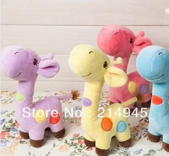 free shipping plush animal doll for child / kids  giraffe dolls / best toy for kids