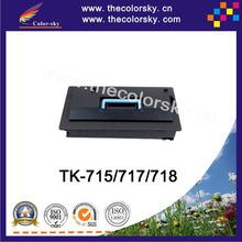 Buy  (CS-TK715) BK toner laserjet printer laser cartridge Kyocera TK 715 717 718 KM 3050 4050 5050 (34k pages) for $68.43 in AliExpress store