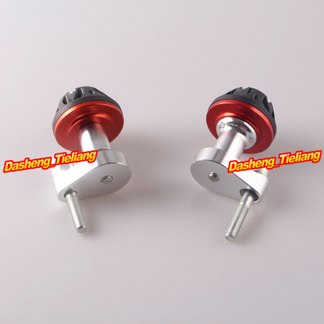 Yamaha YZF R1 2007 2008 CNC Stator Cover Slider Frame Protector Crash 07 08, Aluminum Alloy, Red Color, Motor Spare Parts