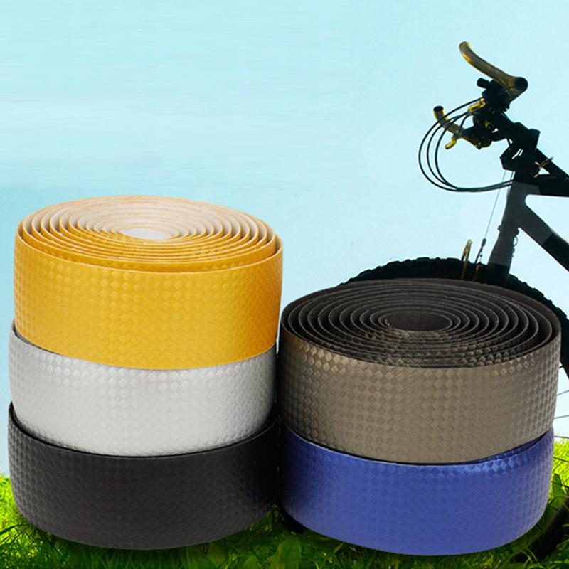 New High Quality Cycling Road Bike Sports Bicycle Cork Handlebar Tape + 2 Bar Plug Carbon Fibre belt Fiber strap SM004(China (Mainland))