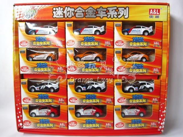O.l alloy car model toy car 1 . 64 WARRIOR car alloy car automobile race paragraph 102357 boxed