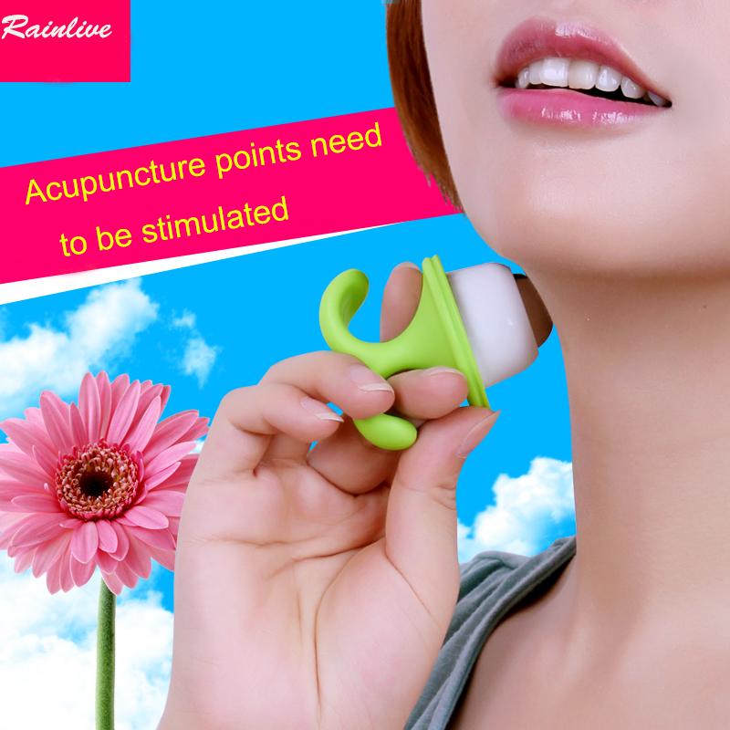 Special offer Flowerpot massager Desktop Tray Seedlings Single bead acupoint massager Body face massage ball brush(China (Mainland))