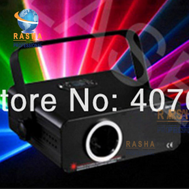 NEW 300MW RGB Full Color Animation Laser Light With SD Card+2D/3D Change,Christmas Party Laser Light Without ILDA
