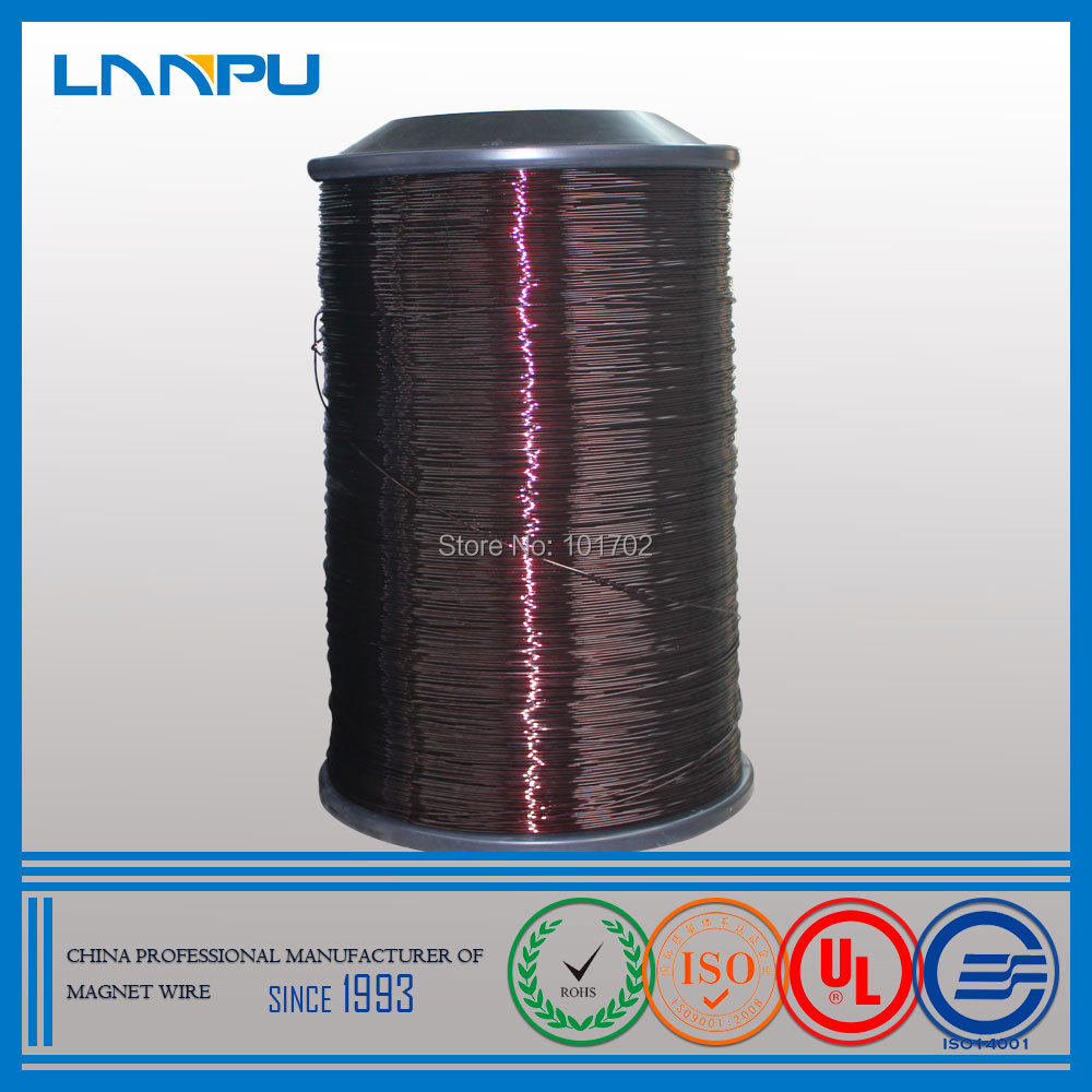 Factory Price 18 AWG Gauge Winding Wire Aluminum Enamelled Magnet Wire(China (Mainland))