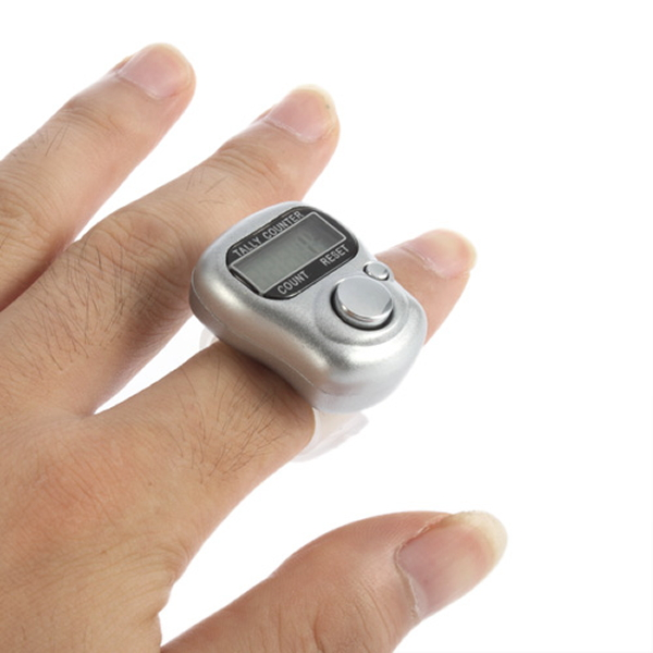 2016 Newest Mini Digit LCD Electronic Digital Manual electronic counter FingerRi