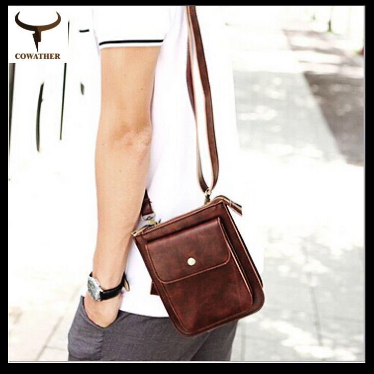 Korea Style PU Leatehr Men Messenger Bag Vintage Single Shoulder Bag Motor Casual Designer Young Men's Bag(China (Mainland))