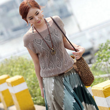summer batwing short sleeve tee shirts tops for women,mesh top woman t-shirt,tshirts cotton women harajuku shirt,poleras mujer(China (Mainland))