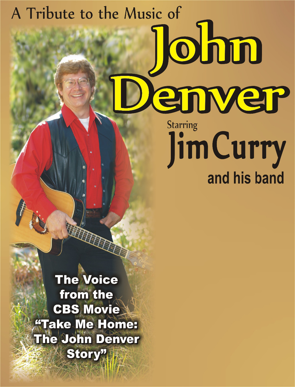 John Denver Jim Curry Music Class Propaganda Vintage Kraft Decorative Poster DIY Wall Sticker Delicate Home Bar Decor Gift(China (Mainland))