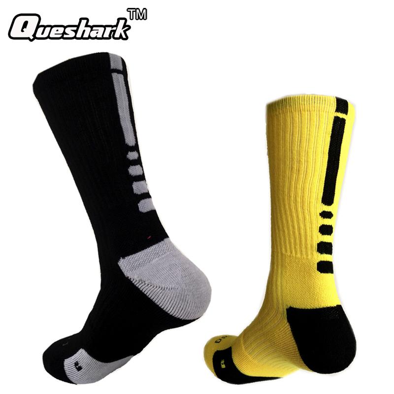Brand Outdoor Sport New Elite Cycling Socks Men Long Coolmax Basketball Soccer Socks Male Compression Socks Men Athletic Socks(China (Mainland))