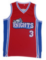 Retro Basketball Jersey Movie Like Mike Movie Knights 3 Calvin Basketball Jersey Embroidered and Stitched White