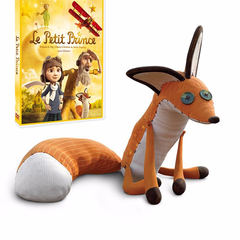 40cm The Little Prince Plush Dolls The Little Prince And The Fox Stuffed Animals Plush Education Toys Gift For Kid
