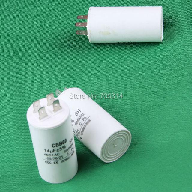 running capacitor 14UF pump motor start capacitor 4 pins.