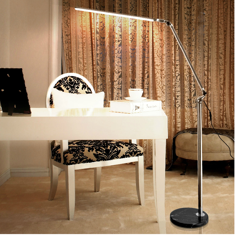 Simple Touch Folding The Long Arm Floor Lamp Dimming Led