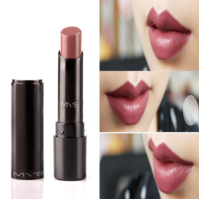 2016 Новое Прибытие МЫС марка красоты матовая помада длительный оттенок губ косметика для губ maquiagem макияж красный batom