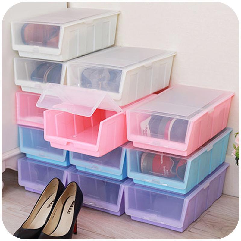 Compra grandes cajas de pl stico con tapas online al por - Caja plastico con tapa ...