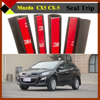 Car SUV Engine C/B Pillar Trunk Door Rubber Weatherstrip Sealing Hollow Protector Seal Strip Easy Insulation Fit CX5 CX-5