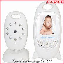 "2.0"" lcd video babyphone Wiegenlied wireless Überwachungskamera Widerworte ir us1 unzen 1pcs/lot(China (Mainland))"