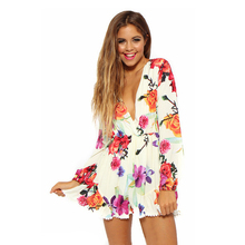 Free shipping Summer Dress 2015 Casual Women Dress Print Floral Sexy Backless longSleeve Dresses Party Spaghetti Strap  Dress(China (Mainland))