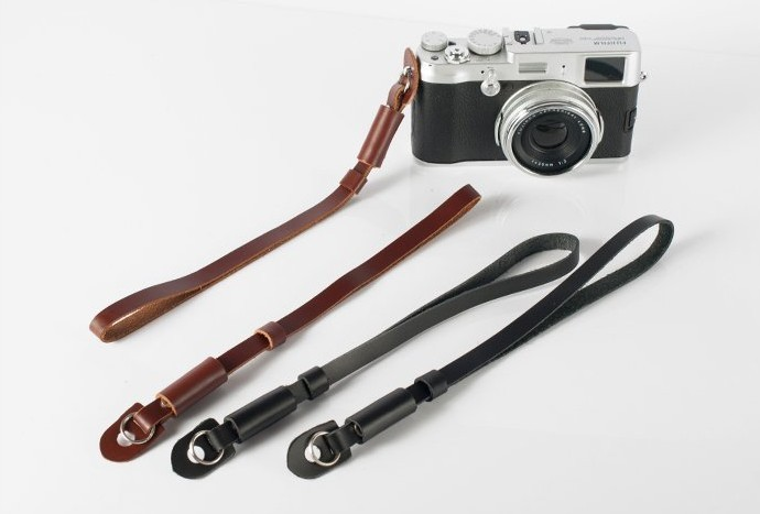 2015 NEW Genuine Leather Universal Camera Strap Wrist Belt For SONY/Nikon/Canon/Samsung/<font><b>Panasonic</b></font> <font><b>DSLR</b></font> Camera Video 2 colors