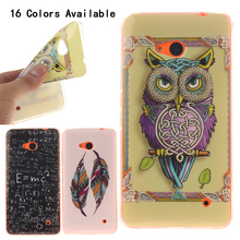 For Microsoft Nokia Lumia 640 case Stylish IMD TPU Gel Silicone Soft N640 Case Cover Mobil Phone Protective Sleeve Case Cover