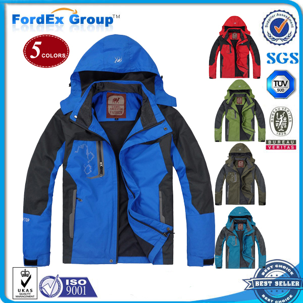 2015 Camel Spring Autumn Camping Hiking Men Jacket Outdoor jacket Sportswear Hooded Plus Velvet Waterproof Outerwear - Fordex Industrial Group Limited store